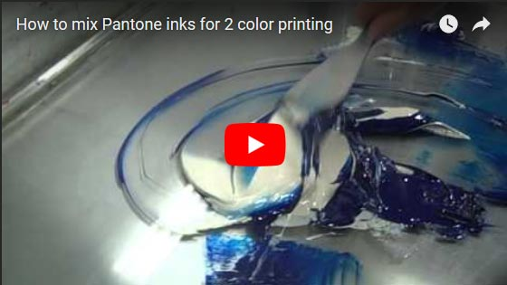 2 Color Printing Video
