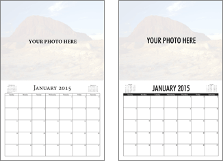 do it yourself calendar styles