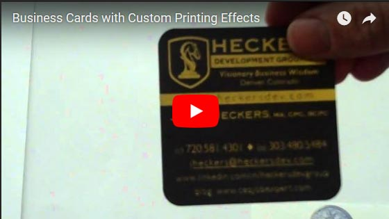 Business cards samples printing examples and design ideas custom business cards video reheart