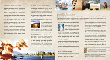 gatefold brochure inside panels