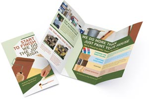brochure printing custom brochures printed and mailed