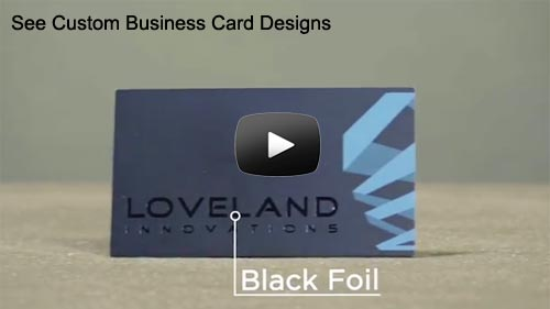 Premium custom business card printing with many options business card printing features reheart Choice Image