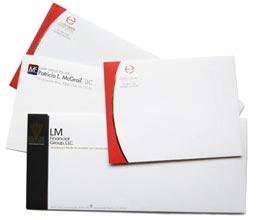 10 Envelope Printing Full Color Custom Envelopes