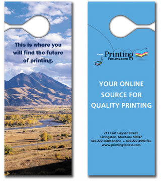 door hanger templates standard sizes for printing