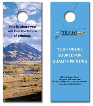 Door Hanger Templates For Door Knob Hangers - Door knob flyer template free
