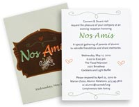invitation printing example