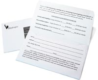 offering and remittance envelope printing