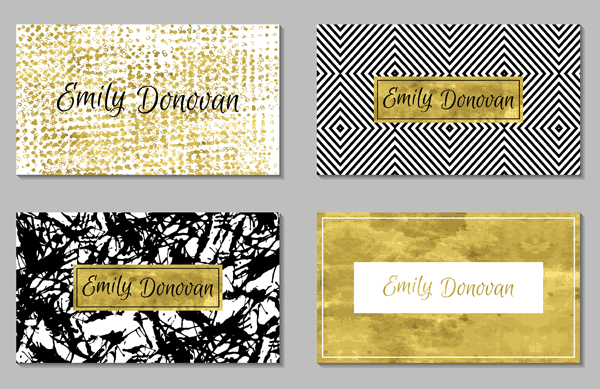 foil card examples