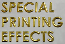 foil stamping with embossing