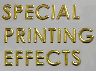 Custom written paper embossing stamp