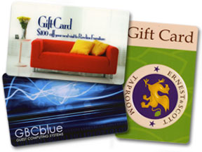gift card examples