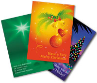 holiday cards printing examples