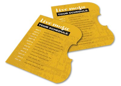 music tour schedule magnet