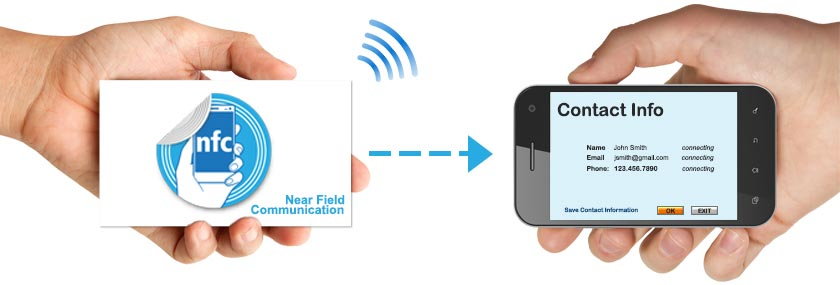NFC information flow