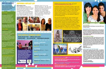 11 x 17 newsletter inside spread - Newsletter Design Ideas