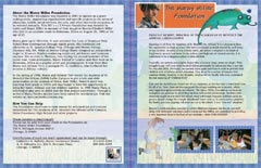 half fold newsletter sample
