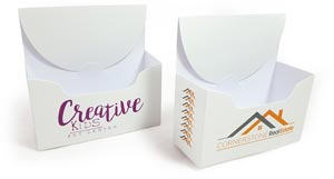 promotional business card box