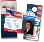 political marketing materials