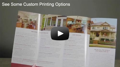 Custom Brochures Video