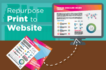 repurpose print for web