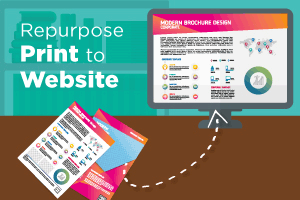 Repurpose Print To Web
