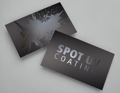 Spot UV Coating Example