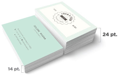 Which paper to use for brochures postcards and catalogs business card thickness comparison colourmoves