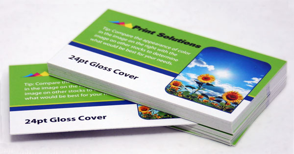Extra Thick Business Cards On 24pt Heavy Card Stock