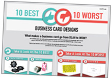 top 10 business cards