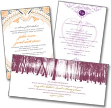traditional wedding invitations