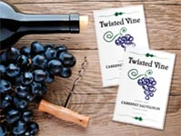 winery labels