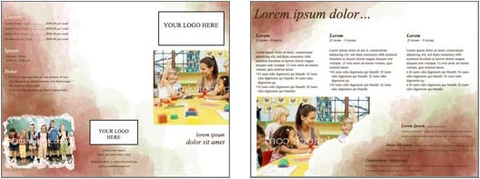 Word Brochure Design Template