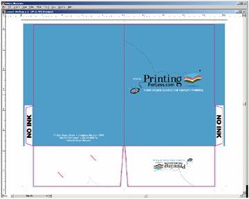Presentation folder design and layout templates instructions presentation folder outside knockouts toneelgroepblik Image collections
