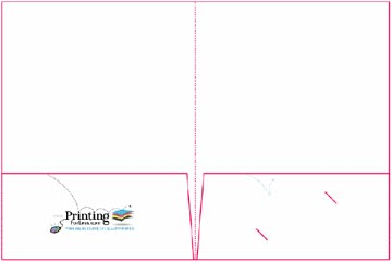 Presentation Folder Design and Layout Templates Instructions