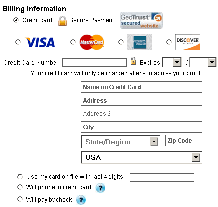 pay by check