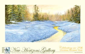 horizontal fine art poster sample