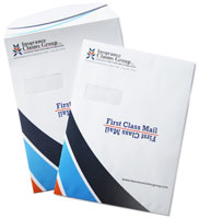 booklet envelopes printing example