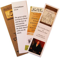 bookmark printing examples