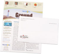 newsletter printing examples