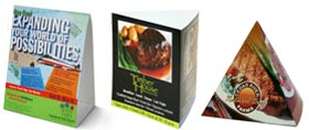 table tents & Table Tent Printing - Custom Table Tents