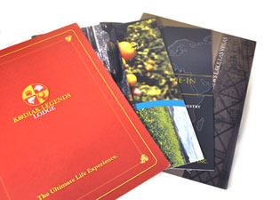 catalogs and booklets
